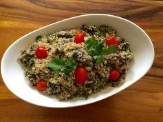 Mushroom quinoa