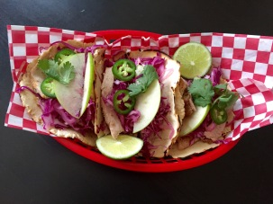 Tequila and Lime Pork tacos