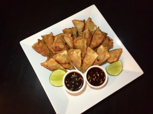Deep fried Pork and Shrimps wontons