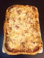 Chicken pizza