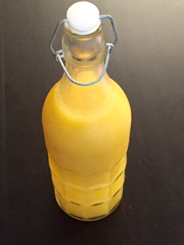 Homemade Mango juice