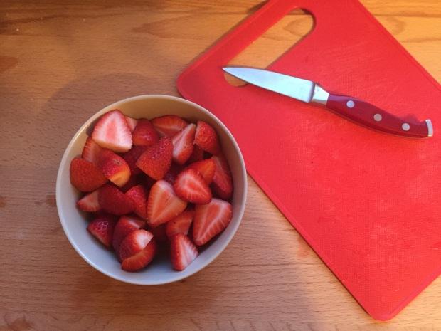 Strawberry Fraisier Trifles